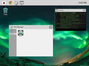 raspberry pi desktop experience
