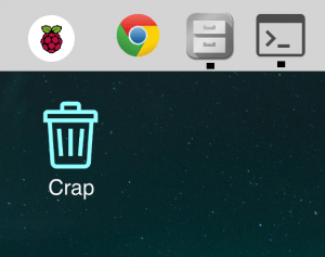 crap can raspberry pi desktop experience