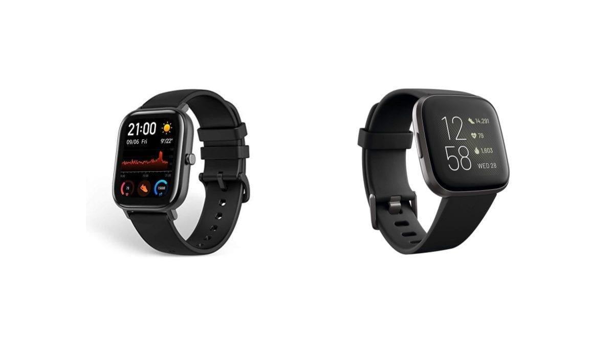Amazfit Gts Vs Fitbit Versa 2 Chay Chay Tech Time