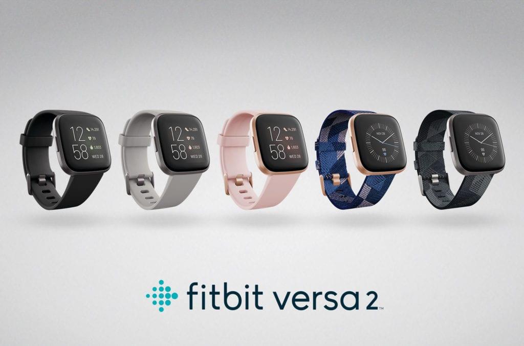 Fitbit Versa 2 Lineup
