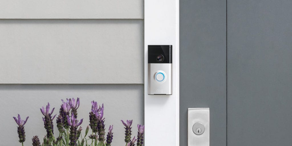 Ring's First Video Doorbell In Action