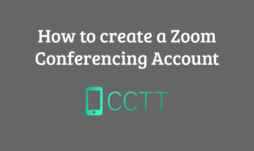 How to Create a Zoom Conferencing Account (VIDEO)