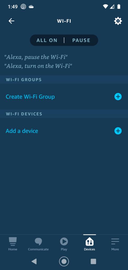 Alexa Wifi Router TP Link Deco