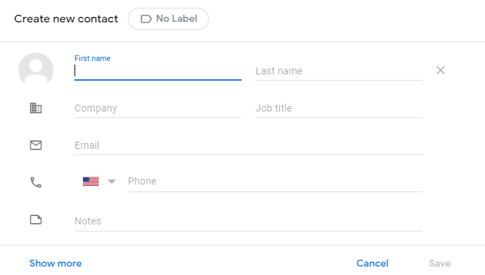 Google Contact Creation Wizard - Staying Connected